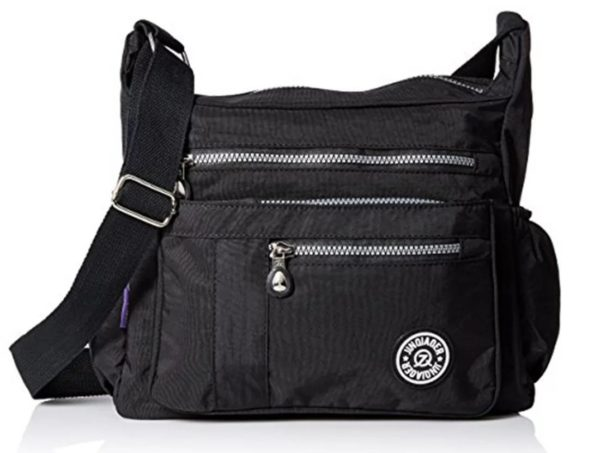 Bag messenger JINQIAOER - Black